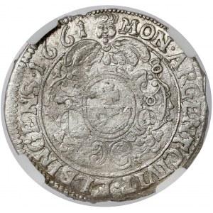 Jan II Kazimierz, Ort Elbląg 1661 NH - rzadki