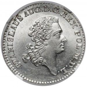 Poniatowski, Złotówka 1767 FS - mennicza