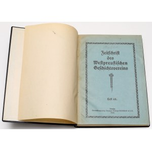 Westpreussischen Geschichtsvereins, Heft LXVIII - Gdańsk, 1928