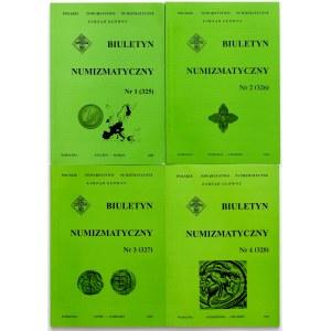 Biuletyn numizmatyczny 2002 - komplet (4szt)