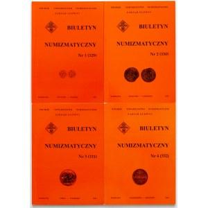 Biuletyn numizmatyczny 2003 - komplet (4szt)