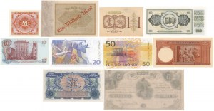 Grecja, Norwegia, Niemcy, Węgry itd. (10szt)
