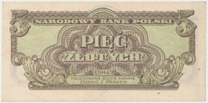 5 złotych 1944 ...owym - XM