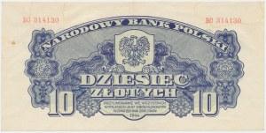 10 złotych 1944 ...owym - BC