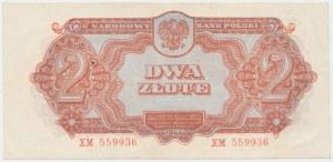 2 złote 1944 ...owym - XM