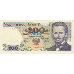 200 złotych 1976 - AF