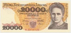 20.000 złotych 1989 - B