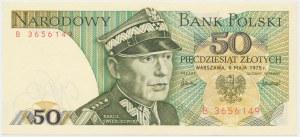 50 złotych 1975 - B