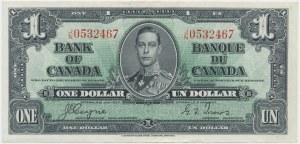 Kanada, 1 Dollar 1937