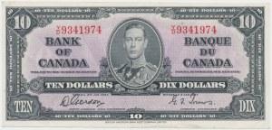 Canada, 2 Dollars 1937