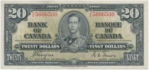 Canada, 20 Dollars 1937