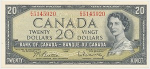 Canada, 20 Dollars 1954