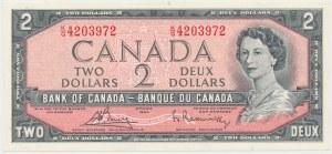 Canada, 2 Dollars 1954