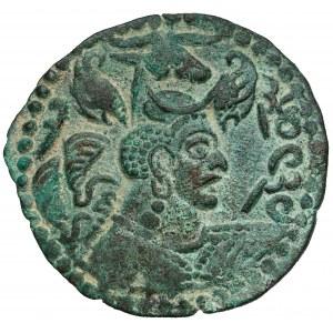 Biali Hunowie, Heftalici (475-525 n.e.) Kabul, Drachma