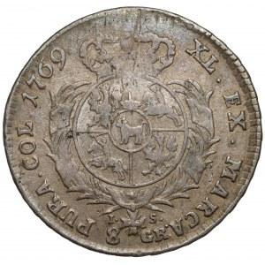 Poniatowski, Dwuzłotówka 1769 IS - rzadka