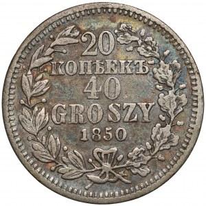 25 kopiejek = 50 groszy 1850 MW, Warszawa