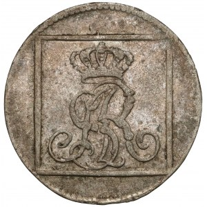 Poniatowski, Grosz srebrny 1768 F.S.