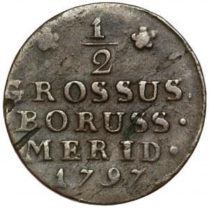 Prusy Południowe, Półgrosz 1797-B, Wrocław
