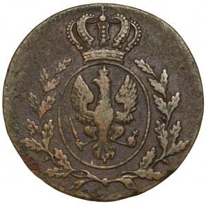 Wielkie Księstwo Poznańskie, 1 grosz 1816-B, Wrocław