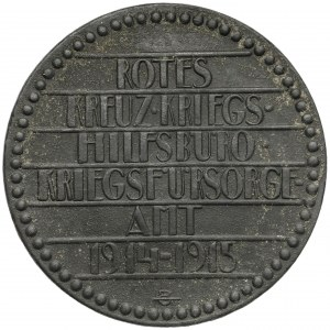 Austria, Medal Czerwonego Krzyża 1914-1915 - Przeciwko Wrogom Świata