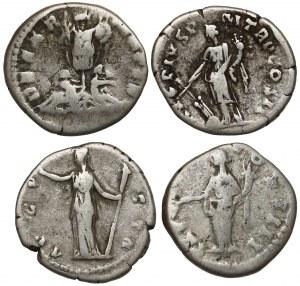 Cesarstwo Rzymskie - zestaw denarów (4szt)