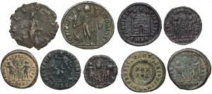 Cesarstwo Rzymskie - zestaw follisów (10szt)
