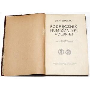 Podręcznik Numizmatyki Polskiej, Gumowski 1914 - tylko teksty