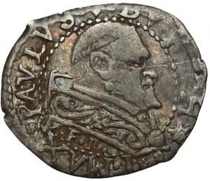 Watykan, Paweł V, Ferrara, 1/2 grosso (1605-1621)