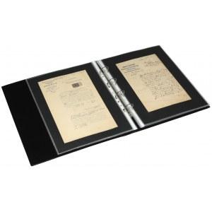 Kolekcja ciekawych, starych dokumentów itp. (44szt)
