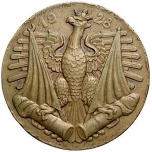 Medal Generał Józef Bem 1928 - I Nagroda Zawodów Sportowych 4. Dyonu Samochodowego