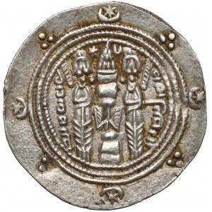Sasanidzi, Farḫān (AH 93–110 = AD 711–728), 1/2 drachmy