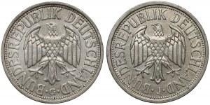 2 mark 1951 J i G (2szt)