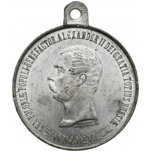 Medal, Na pamiątkę Urządzenia Włościan 1864 r.