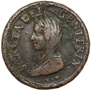 Włochy, Pius VI, Macerata, Madonnina 5 baiocchi 1797 - b.rzadkie