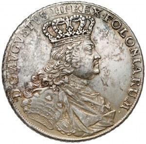 August III Sas, Talar Lipsk 1755 EDC - rzadkie popiersie