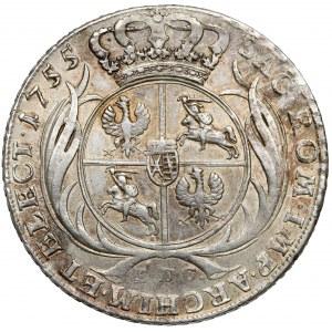 August III Sas, Talar 1755 EDC, Lipsk - rzadkie popiersie