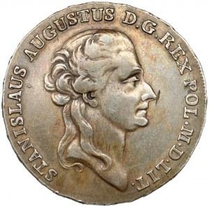 Poniatowski, Półtalar 1788 E.B. - ładny