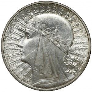Głowa Kobiety 10 złotych 1933