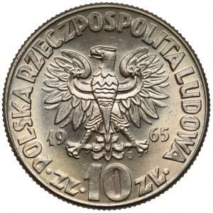 10 złotych 1965 Kopernik - na wysokiego MS'a