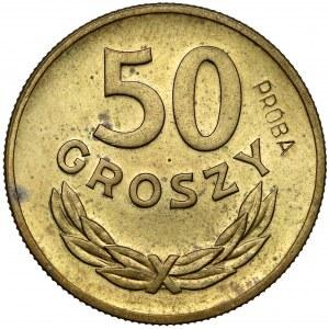 Próba MOSIĄDZ 50 groszy 1949