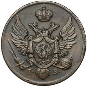 3 grosze 1826 IB z MIEDZI KRAIOWEY - piękne