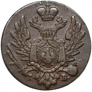 1 grosz 1822 IB z MIEDZI KRAIOWEY - bardzo ładny