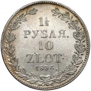 1-1/2 rubla = 10 złotych 1836 ПГ, Petersburg