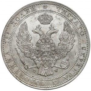 3/4 rubla = 5 złotych 1836 MW, Warszawa