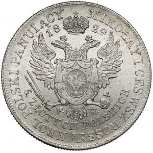 5 złotych polskich 1829 F.H. - bardzo ładne