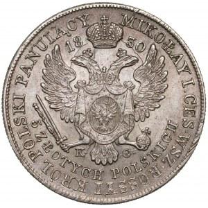 5 złotych polskich 1830 KG - Gronau - bardzo ładne