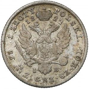 1 złoty polski 1822 IB - drugi typ