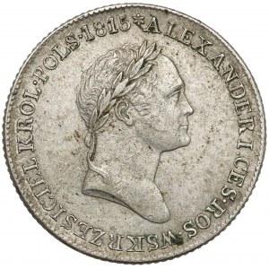 1 złoty polski 1829 F.H. - trzeci typ