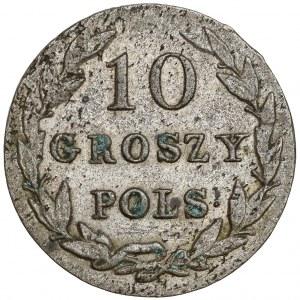 10 groszy polskich 182? IB