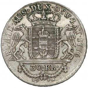 Zabór austriacki, Oświęcimsko-Zatorskie, 30 krajcarów 1776